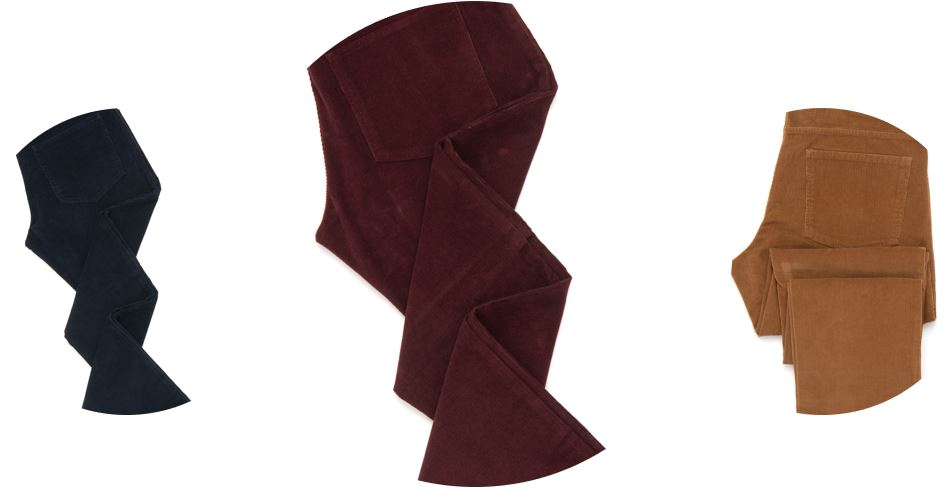 Must-have colors: Navy, Burgundy and Brown.